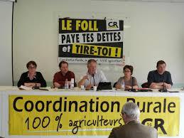 chambre agriculture charente la coordination rurale fait le point à mi mandat
