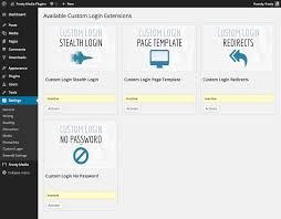 wordpress custom login plugin by austin passy