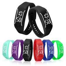 led rubber bracelet images Sports bracelet digital wristwatches rubber led watch date women 39 s jpg