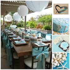 beach bridal shower inspiration board