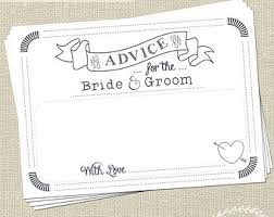 advice cards for and groom advice for the and groom wedding messages wedding