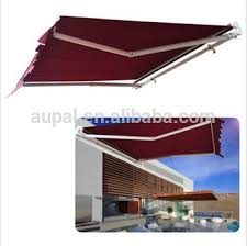 Buy Awning Manual 8 2 U0027 6 6 U0027 Retractable Patio Deck Awning Outdoor Sun Shade