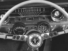 1965 mustang instrument cluster what car s cluster has the best font cars