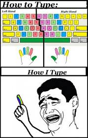 Funny Rage Memes - funny rage comic how i type keyboard