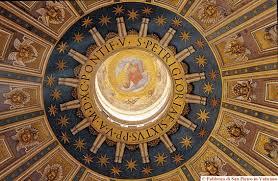 chi ha progettato la cupola di san pietro basilica papale san pietro