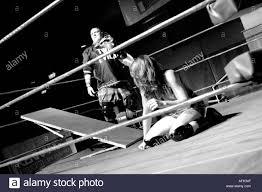backyard wrestling king s cross london united kingdom stock photo