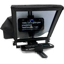 tmp glide gear tmp 50 adjustable smartphone mini teleprompter tmp 50