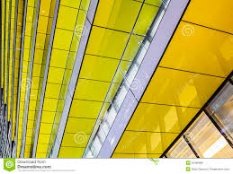 abstract yellow architecture stock photo image 50486886