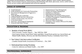 Social Worker Resume Sample by Sample Social Work Resume Examples Bsw Resumes Reentrycorps