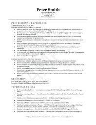 Data Management Resume Sample 100 Management Resume Sample Operations Director Executive