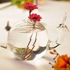 Nice Flower Vases Glamorous Creative Delicate Snail Design Glass Flower Vase