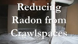 mitigating radon from crawlspaces youtube