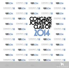 Photo Backdrops For Parties Graduation Party Backdrops For High Or College Grad