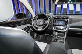 subaru legacy 2015 interior refreshed 2018 subaru legacy debuts at chicago auto show motor trend