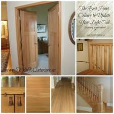 honey oak trim and how to make it work by choosing the right paint