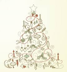 vintage christmas tree printables meegan