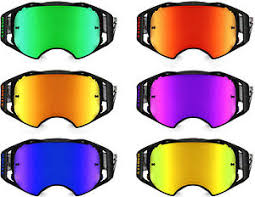motocross goggles ebay goggle shop replacement mirror lens to fit oakley airbrake motocross