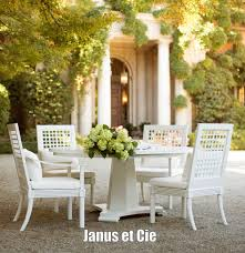 Janus Et Cie Outlet by Exterior Design Round Dining Table With Janus Et Cie And Mid