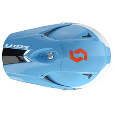 blue motocross helmet motocross helmet scott 350 pro race blue orange insportline