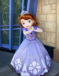 sofia the dress the princess mascot costume fancy dress