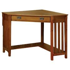 mission oak corner computer desk sun pine mezas mission style corner computer desk medium oak target