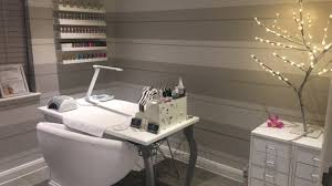 quick home nail salon tour box room inspiration youtube