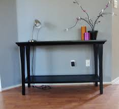 black console table with storage furniture appealing console tables ikea for home furniture ideas