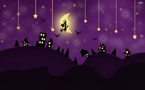 cartoon halloween wallpaper purple halloween wallpapers u2013 festival collections