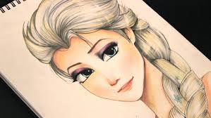 drawing elsa frozen