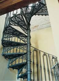 antique victorian cast iron spiral staircase circa 1900 doors