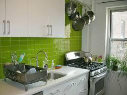 brown blind ceramic tile backsplash metal refrigerator rustic