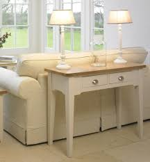 Painted Console Table Cottage Oak And Painted Console Table Oak Furniture Uk