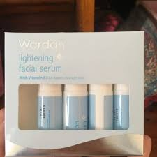 Serum Wardah Lightening Series review wardah serum lightening series moeslema