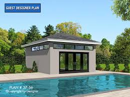 pool home plans pool house plan 37 56 house plans by garrell associates inc