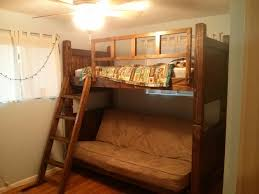 Bedroom Endearing Secret Loft Bed With Futon For Bedroom - Futon bunk bed cheap