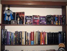 Batman Bookcase Under The Giant Penny September 2009