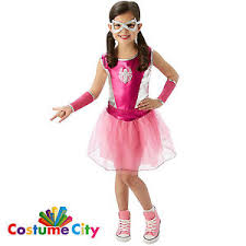 Marvel Halloween Costume Girls Official Marvel Pink Spider Fancy Dress Party Halloween