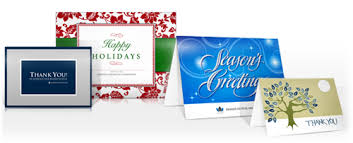 custom designed color printing for cards invitations by