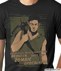 Daryl Walking Dead Meme - daryl dixon the walking dead t shirt le rage shirts