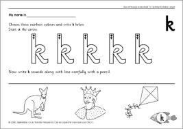 letter u0027k u0027 worksheets sb86 sparklebox