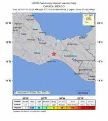 Oaxaca Mexico Map Magnitude 6 2 Quake Hits Southeast Of Oaxaca Mexico Usgs New