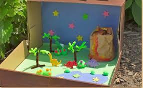 dinosaur diorama craft project ideas