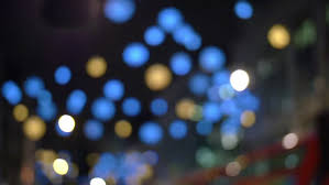 mystical twinkling lights at stock footage 3145660