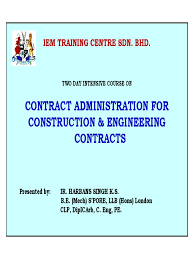design and build contract jkr contract administration for construction engineering contracts 1