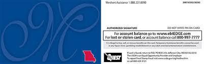 ebt cardholder information mydss mo gov