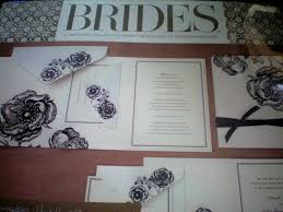 amazon com brides magazine wedding invitation kit kitchen u0026 dining