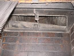Fireplace Flue Repair by Photos Professional Home Inspection Llc