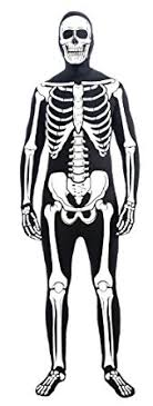 skeleton costume forum novelties men s skeleton bone skin suit