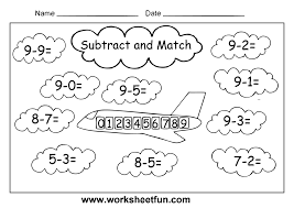 kindergarten math worksheets printable one more maths to print