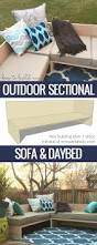 sofa king joke plywood pretty diy outdoor sectional sofa tutorial building